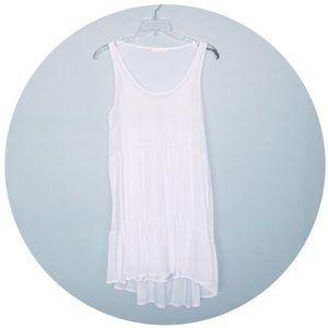 EUC Nine Bird White Dress Lined S